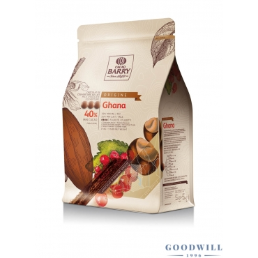 Cacao Barry Ghana 40,5%...