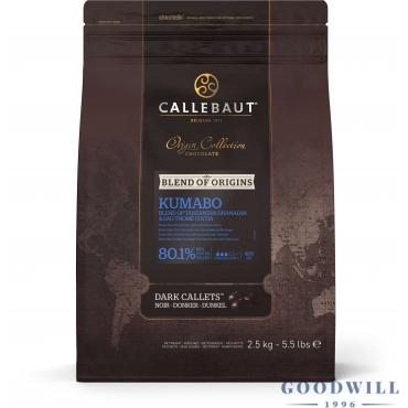 Callebaut Kumabo 80.1%-os...
