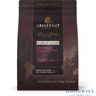 Callebaut Satongo 72.2%-os...