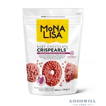 Mona Lisa Crispearls ruby...