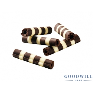 Duo csokirolád (4 cm) 1 kg