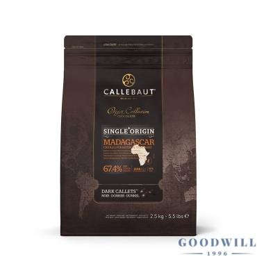 Callebaut Madagaszkár 67,4...