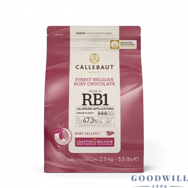 Callebaut RB1 ruby...