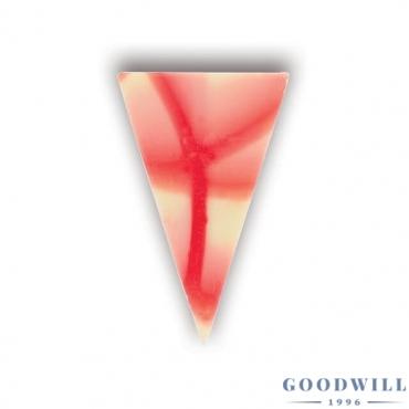 Jura háromszög piros-fehér...