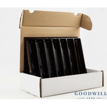 Bonbontároló doboz (2 tálcás)